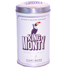 King Monty Classic Cacao,  i metaldåse